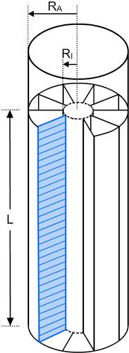 Deteil der Wärmetauscher in stehenden Gewässern